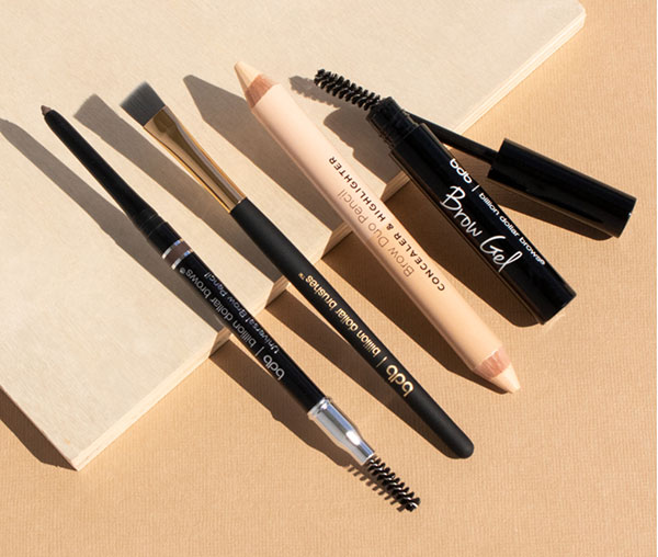 product shot of assorted Billion Dollar Brows products
